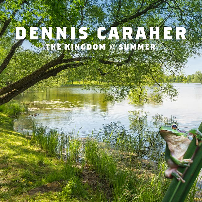 CD cover Dennis Caraher The Kingdom of Summer